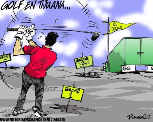 Golf en Tijuana...