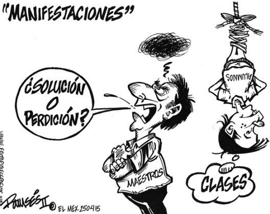 Manifestaciones...
