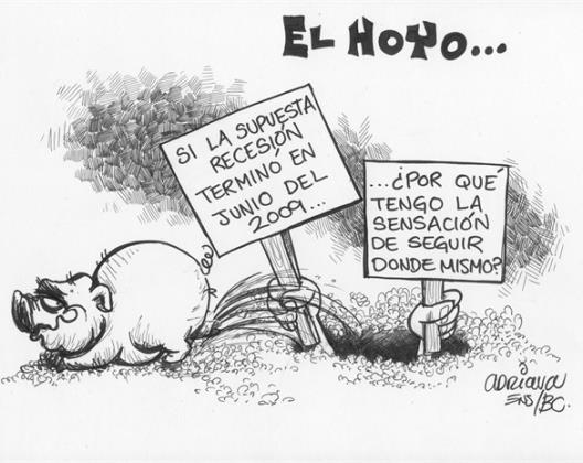 Y OTROS HECHANDOLE TIERRA...