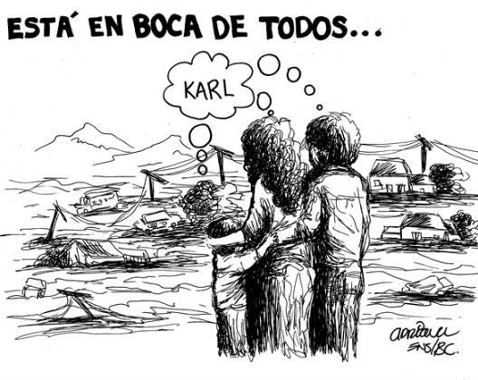 SIGUE EL DESASTRE...