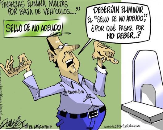MULTAS POR NO DEBER MULTAS...