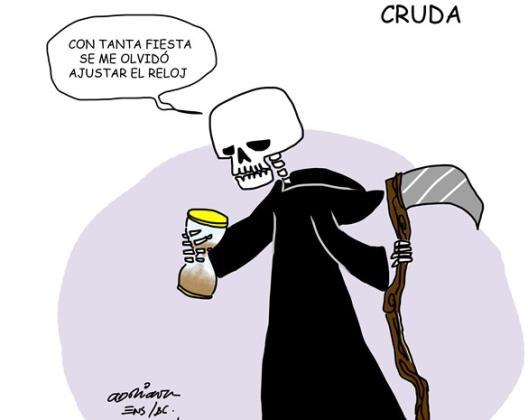 Cruda...
