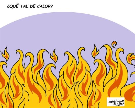 ¿Qué tal el calor?
