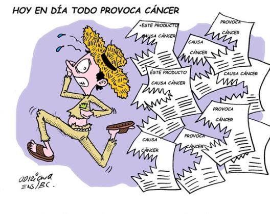 Todo causa cáncer