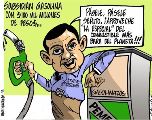 Subsidian gasolina...