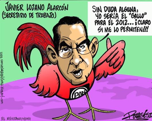 Javier Lozano... El Gallo...