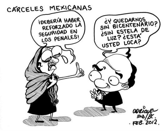 Cárceles mexicanas...