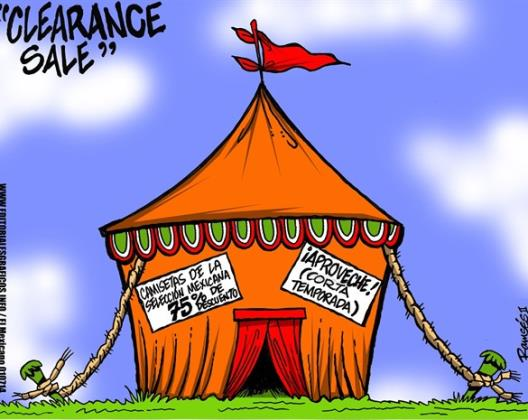 Clearance...