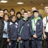 Actividades en el Campeonato de Taekwondo