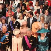 Invitados a la boda real