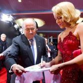 Shakira en la entrega del Balón de Oro