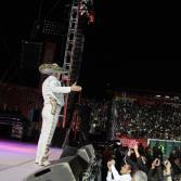 Dice adios Vicente Fernández a Tijuana