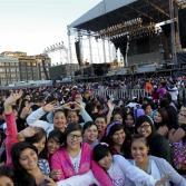 Fans esperan ansiosas a Justin Bieber