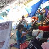 Protestan en Michoacán por distintas causas