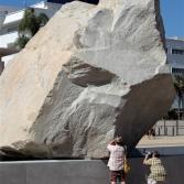 Roca flotante