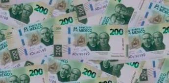 El próximo lunes comenzará a circular nuevo billete de 200 pesos