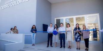 Inauguran la Casa de la Cultura en Cerro Colorado