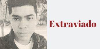 Extraviado| Kevin González Ramírez de 26 años.