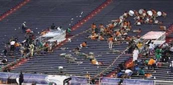 Tiroteo dentro un partido de fútbol americano en Alabama