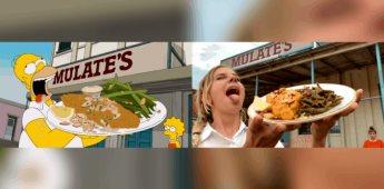 Recrean el tour gastronómico de Homero Simpson en Nueva Orleans