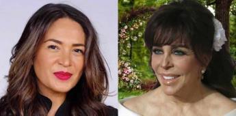 Verónica Castro niega boda con Yolanda Andrade