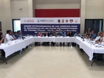 Obras para Tecate, se anuncian en la sesión de los Consejos para el Desarrollo Metropolitano