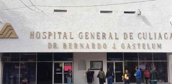 Techo de hospital colapsa tras lluvias