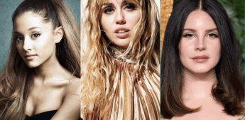 Anuncian colaboración entre Miley Cyrus, Ariana Grande y Lana del Rey.