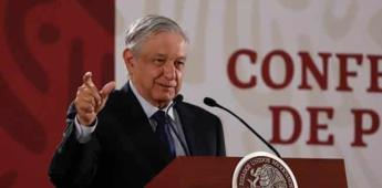 AMLO agradece a Donald Trump actitud de respeto hacia México