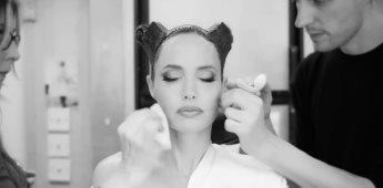 La transformación de Angelina Jolie en Maléfica