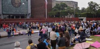 CNTE bloquea todos los accesos a la Cámara de Diputados