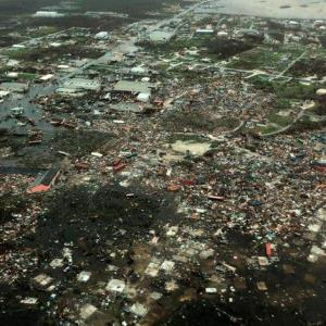 2.500 personas siguen desaparecidas en Bahamas tras el huracán Dorian
