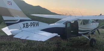 Sedena asegura 449 kilos de marihuana y una avioneta en Sonora