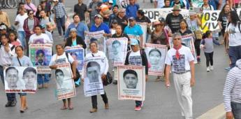 Anuncian que perseguirá a funcionarios negligentes en caso Ayotzinapa