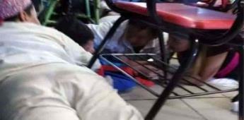 Balacera interrumpe fiestas patrias en primaria de Sonora
