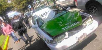 Estampida de 8 caballos de la policía causa destrozos y deja heridos