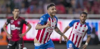 Un accidente festejo del gol, admite Alexis Vega