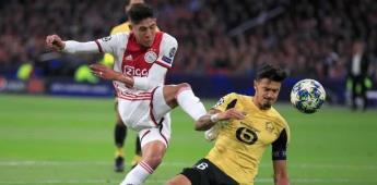 Edson Álvarez anota en el triunfo del Ajax en Champions