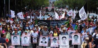 Acuerdan reconstruir desde cero caso Ayotzinapa