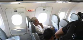 AMLO vuela a Mérida para cenar con premios Nobel de la Paz