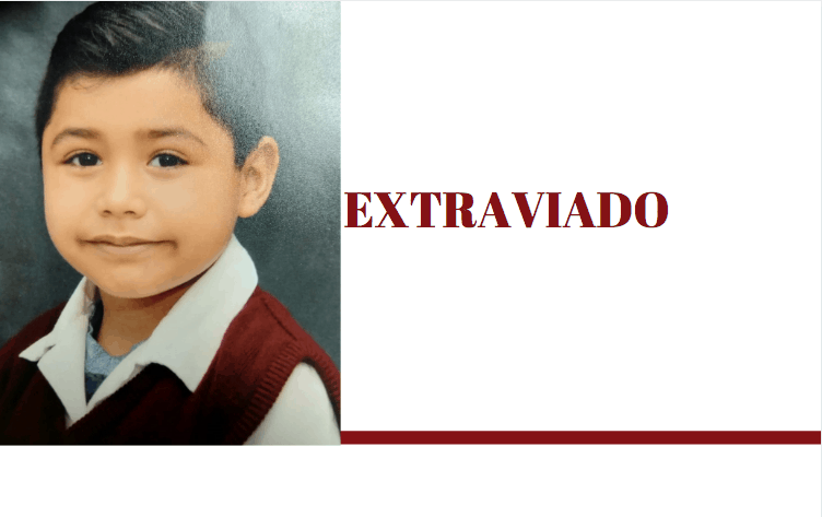 Extraviado || Menor de 7 años