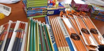 Niño roba útiles para cumplir con deberes escolares