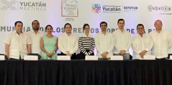 Premios Nobel presentan la Declaratoria Yucatán por la Paz