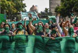 Así quedo Guadalajara tras la marcha pro aborto