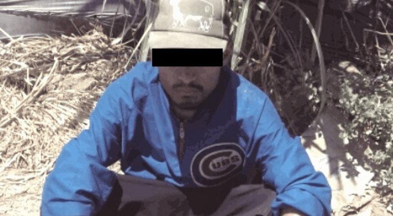 Capturaron a sujeto robado fresas en un rancho