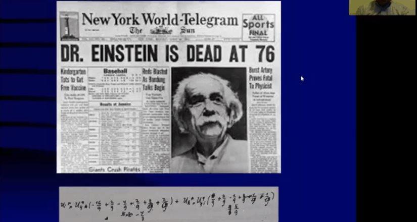 Impactó Einstein a la ciencia del siglo XX