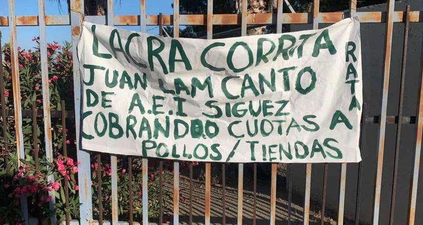 Localizan Narcomanta en Contra de Lam Canto