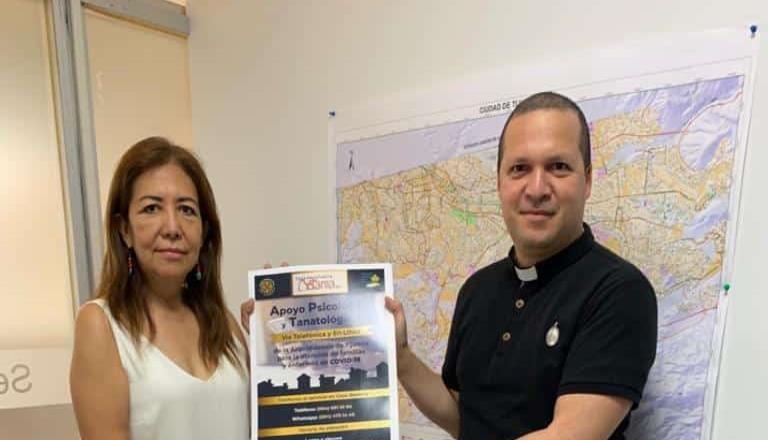 Ayuntamiento promueve terapias ante crisis por covid-19 en conjunto con arquidiócesis de Tijuana