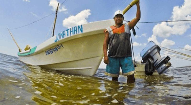 Por lluvias, estiman pérdidas en el sector pesquero de Yucatán
