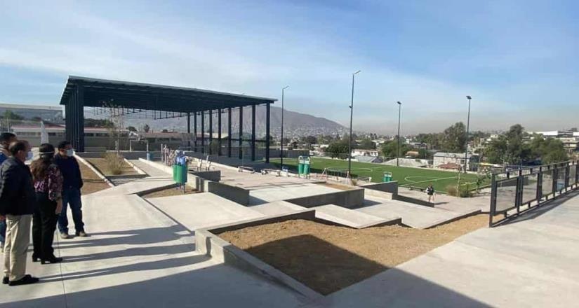 Registra 90% de avance en construcción del centro cultural deportivo Ejido Francisco Villa